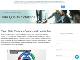 Best Data Quality Software in 2021