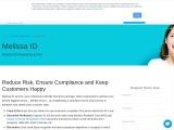 Document Verification Service Melissa