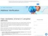 Postal address validation – Melissa SG