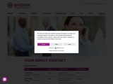 Your direct contact – Evonik Industries
