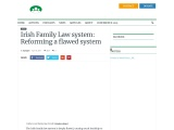 Know the details about Family Law in Ireland