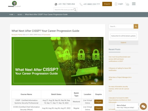 What Next After CISSP? Your Career Progression Guide