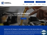 Oil changes and Engine Maintenance Services in Lakewood