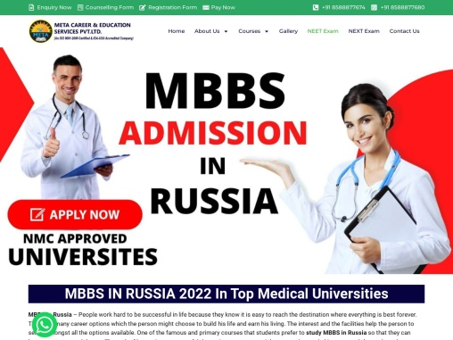 Best Choice MBBS Admission in Russia