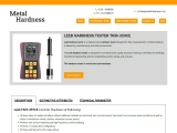 LEEB metal hardness tester is available in Tamilnadu and result in a second