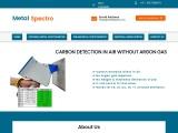 Buy Portable Metal Spectrometer without argon gas