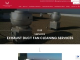 Exhaust Duct Fan Cleaning | Kitchen Duct cleaning | Metropolitanair