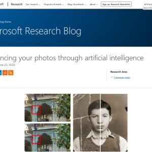 Enhancing your photos through artificial intelligence - Microsoft Research