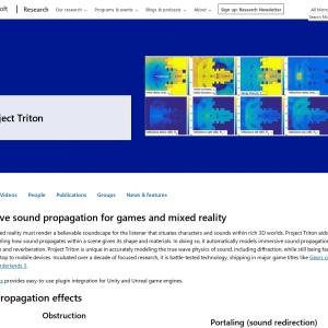 Project Triton - Immersive sound propagation - Microsoft Research
