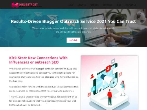 Blogger outreach service For Digital Marketer