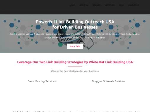 white hat link building service