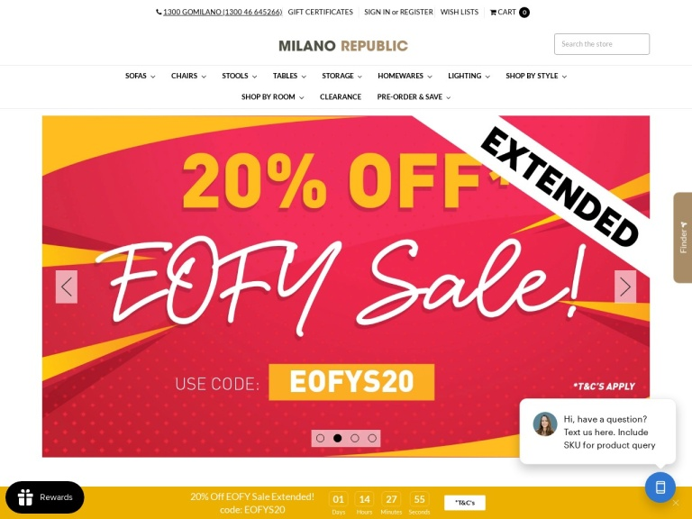 Milano Republic screenshot