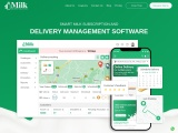 Mobile app for milk delivery – MDS
