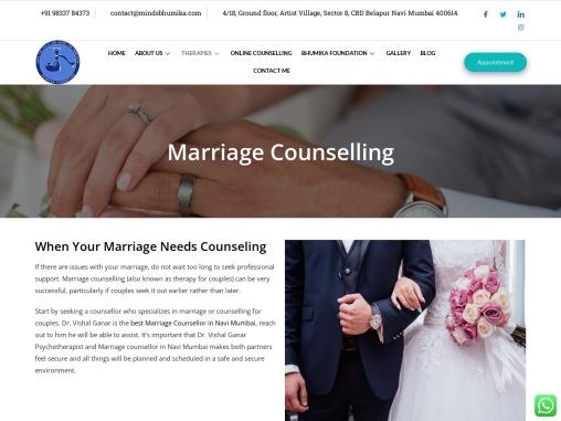 Professional Marriage Counselor in Navi Mumbai