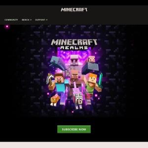 Java 用の Realms | Minecraft