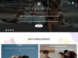 MingleWise is a modern innovative app that cuts through