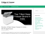 top 5 deep freezer available in india