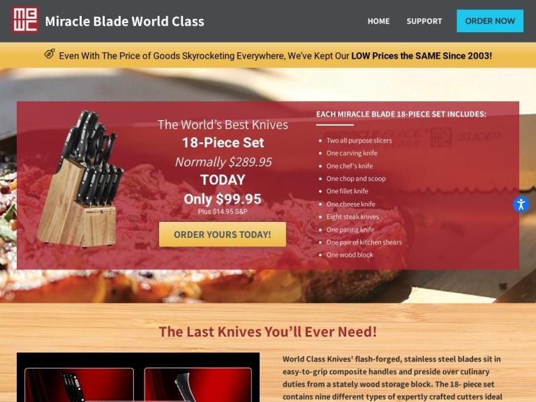 Miracle Blade screenshot
