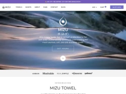 Mizu Towel screenshot