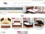 Buy Bed online | Bedroom Furniture online at best prices