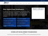 Hire Hybrid App Developer India And USA