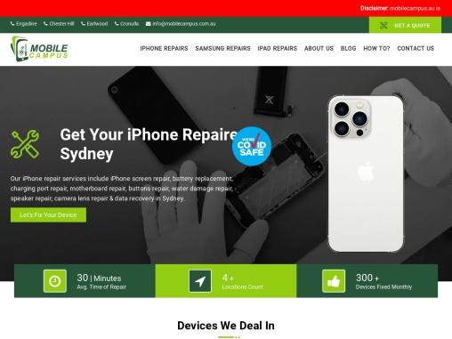 Mobile Campus Engadine | Mobile Phone Repair Store