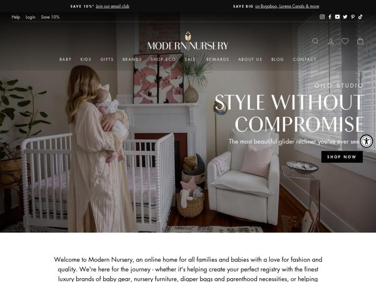 Modern Nursery screenshot
