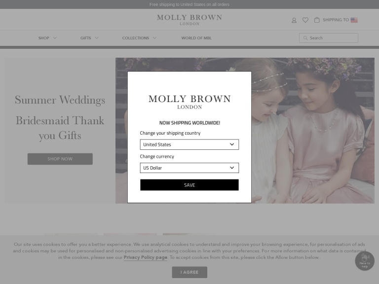 Molly Brown London screenshot