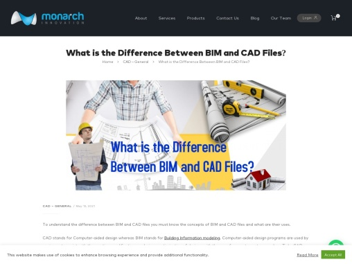 What is the Difference Between BIM and CAD Files?
