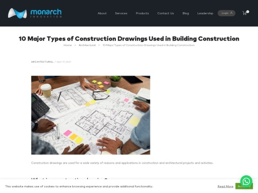 10 Types Of Construction Drawings Used In Building Construction