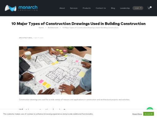10 Major Types Of Construction Drawings Used In Building Construction
