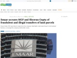 Emaar accuses MGF and Shravan Gupta of fraudulent and illegal transfers of land parcels