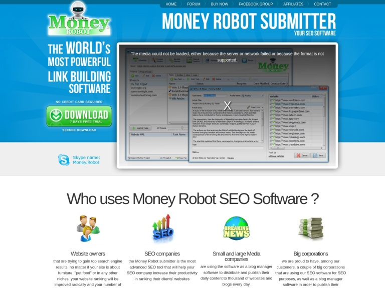 Money Robot screenshot