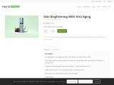 Buy the Best Anti Aging Skin Brightening Cream from Monk Forest