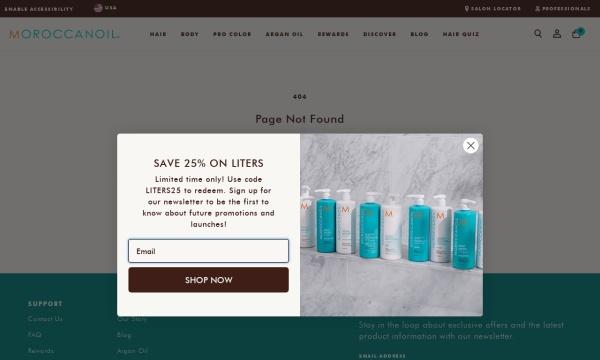 モロッカンオイル オフィシャルサイト