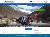 Everest Base Camp Helicopter Tour Return 10 Days