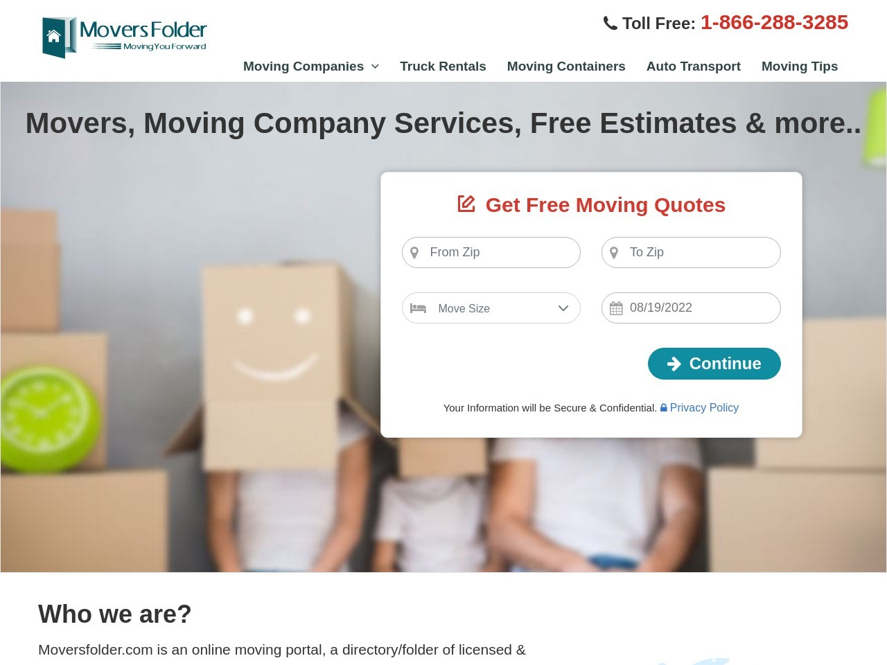 Local Moving Companies Quotes – Getting The Best One