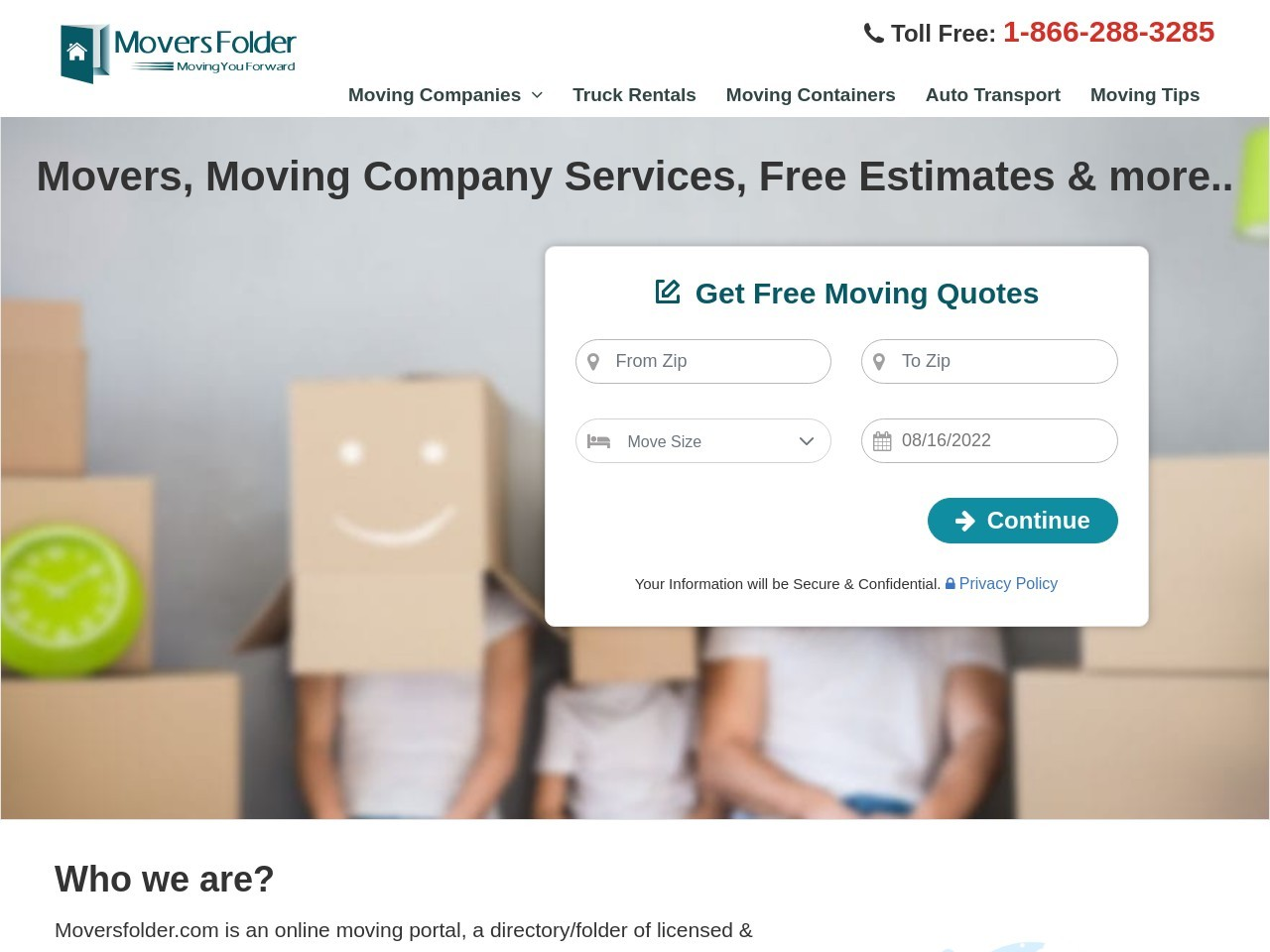 Texas Movers For Your Local & Long Distance Moving Needs