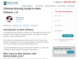 Moving to New Orleans: Complete Moving Guide to New Orleans