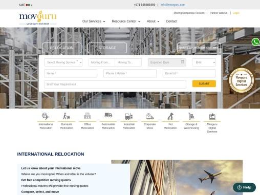 International Relocation Dubai – Movguru