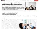 Prerequisites of a Corporate Online Training Platform