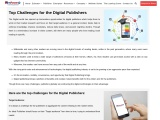Top Challenges for the Digital Publishers