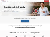 mPowerO – An End-To-End e-Learning Solution