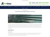 Know More about Residential Glass Patterns and Tints