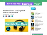 Best free non copyrighted music for youtube