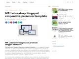 MR Laboratory blogger responsive premium template