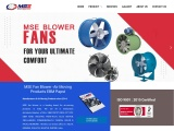 MSE Fan Blower – blower manufacturers suppliers in delhi ncr