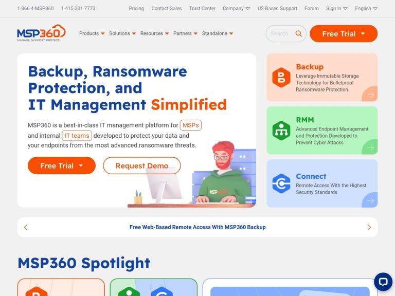 MSP360 Coupon Codes screenshot