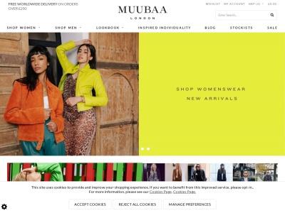 英國MUUBAA官網首頁