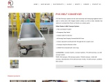 PVC Belt Conveyor systems Suppliers in India